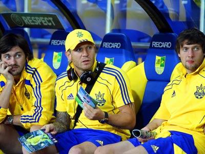 Сборная Украины продолжает подготовку к Евро-2012