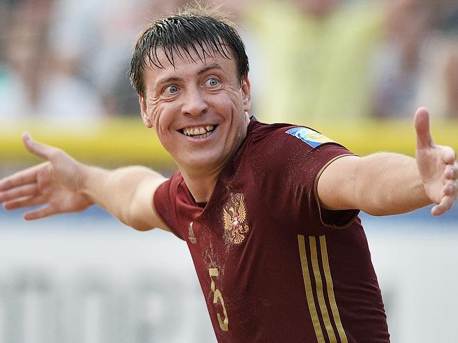 Квалификация чемпионата мира по пляжному футболу. Россия победила Германию