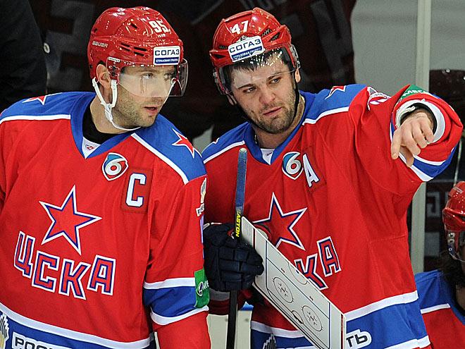 Алексей Морозов и Александр Радулов