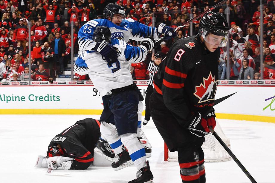 Финны выбивают Канаду с МЧМ-2019