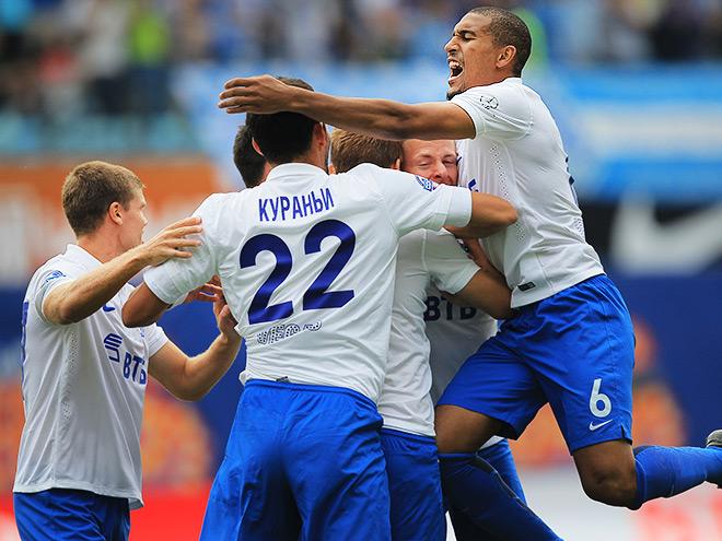 «Динамо» впервые вышло в группу Лиги Европы