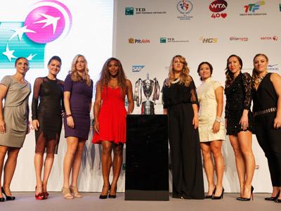 Участницы Итогового чемпионата WTA в Стамбуле