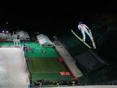 В Сочи стартует Кубок мира по прыжкам с трамплина