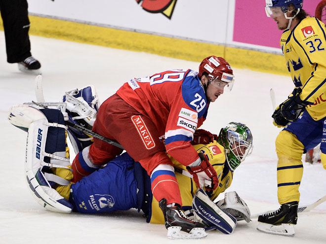 Швеция – Россия – 0:4