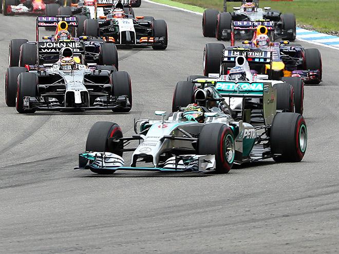 Нико Росберг выиграл Гран-при Германии Формулы-1