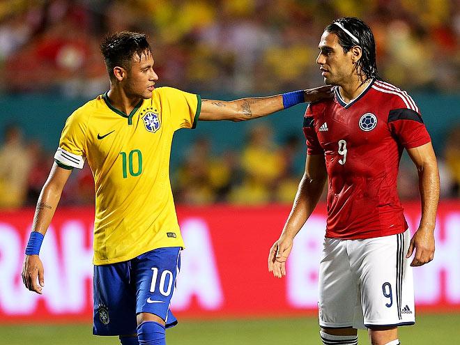 Бразилия победила Колумбию — 1:0