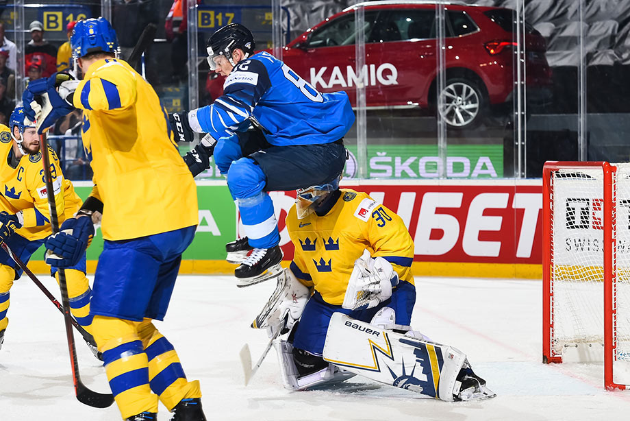 Финляндия — Швеция — 5:4 ОТ, 23 мая 2019 года
