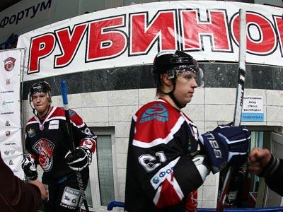 """""""Рубин"""" предсказуемо обыграл ХК """"Рязань"""""""
