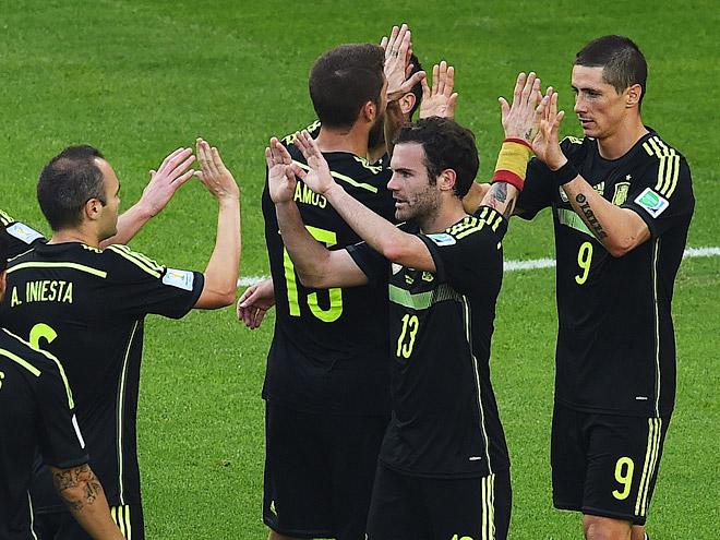 ЧМ-2014. Австралия – Испания – 0:3