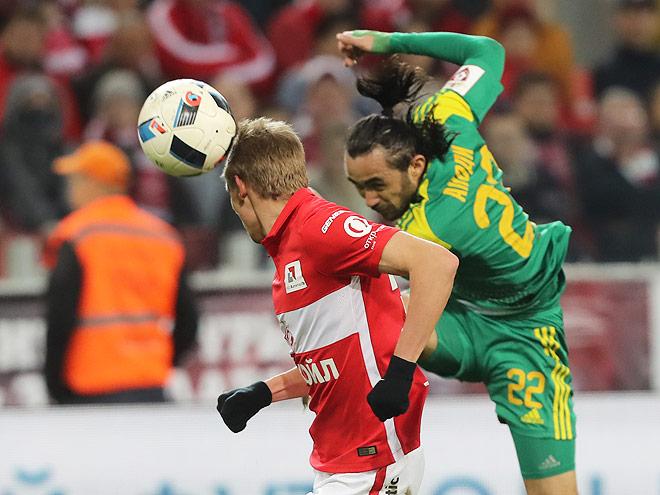 Видео. 5 лучших голов 23-го тура российской Премьер-Лиги