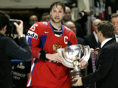 Алексей Морозов набрал 1000-е очко в карьере