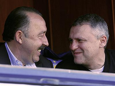Валерий Газзаев и Игорь Суркис