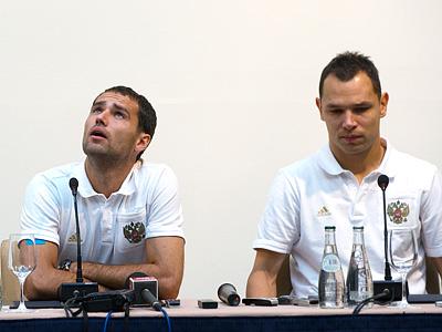 Роман Широков и Сергей Игнашевич