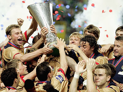 100 лет ЦСКА: победа в Кубке УЕФА