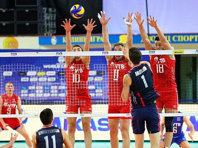 Россия — США — 0:3 (21:25, 20:25, 19:25)
