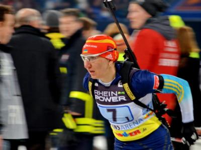 Елена Пидгрушная третья в спринте в Оберхофе