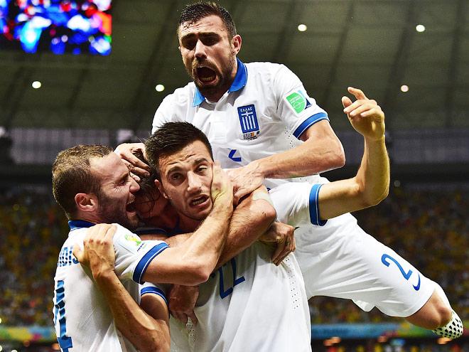 Греция вышла в плей-офф ЧМ-2014