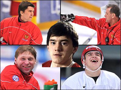 Сборная России готовится к матчу с канадцами