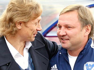 Валерий Карпин и Юрий Калитвинцев