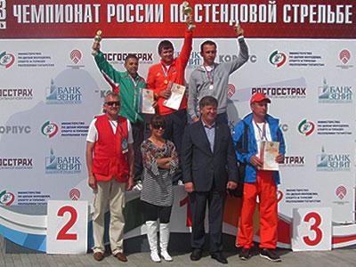 Алексей Алипов занял лишь пятое место