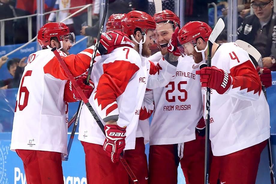 Хоккейная сборная РФ разгромила Чехию ивышла вфинал Олимпиады