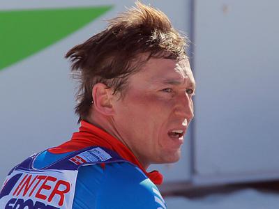 Александр Легков после финиша