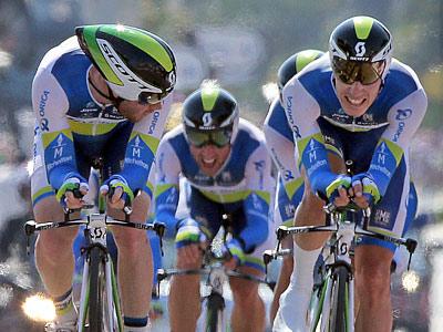GreenEdge выиграла командную гонку