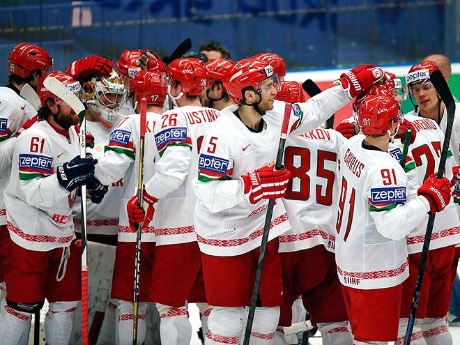 Громкие победы Беларуси в хоккее