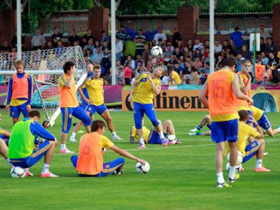 Капитан сборной Украины отсутствует на тренировках