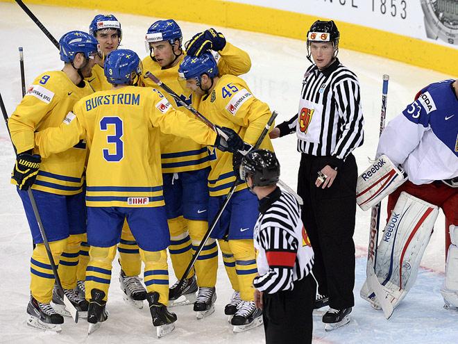 Сборная Швеции – бронзовый призёр ЧМ