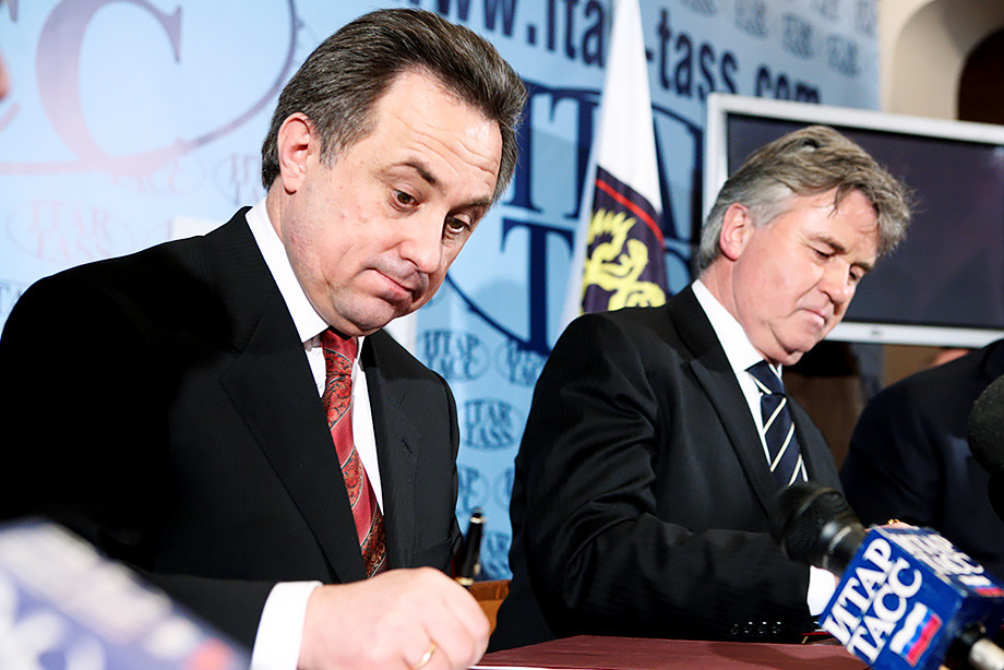 Хиддинк, лимит и закрытые долги. Эпоха Мутко в российском футболе