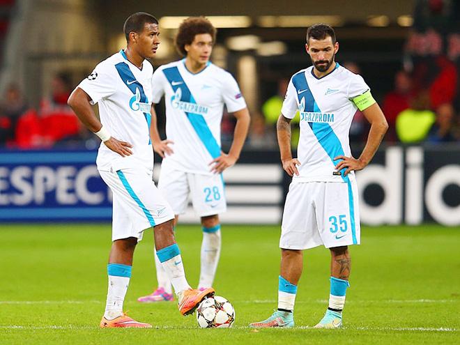 «Зенит» не попал в плей-офф Лиги чемпионов