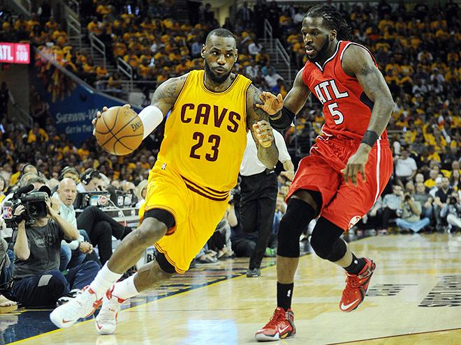 Леброн Джеймс в пятый раз подряд вышел в финал НБА