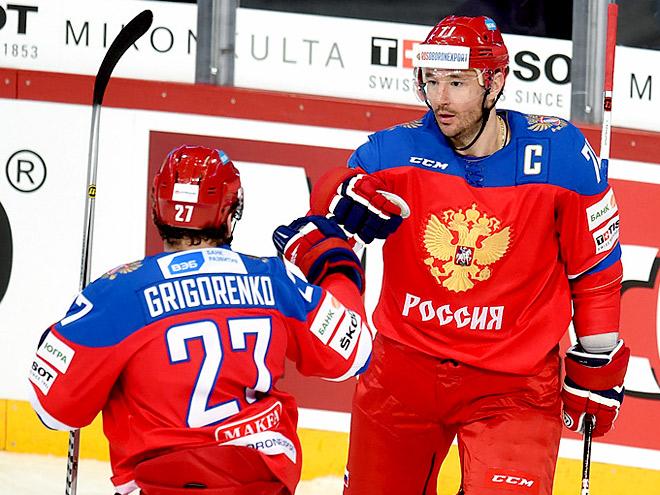 Сборная России сыграет с командой Швеции