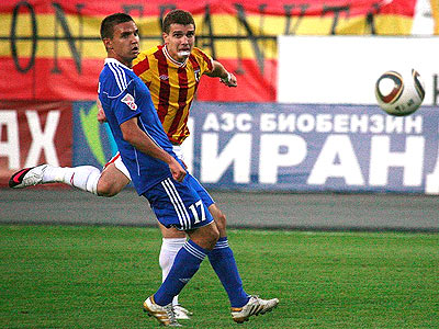 Маренич: гол посвящаю Сергею Даду