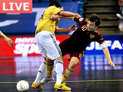 Россия уступила Испании звание чемпиона Европы по мини-футболу