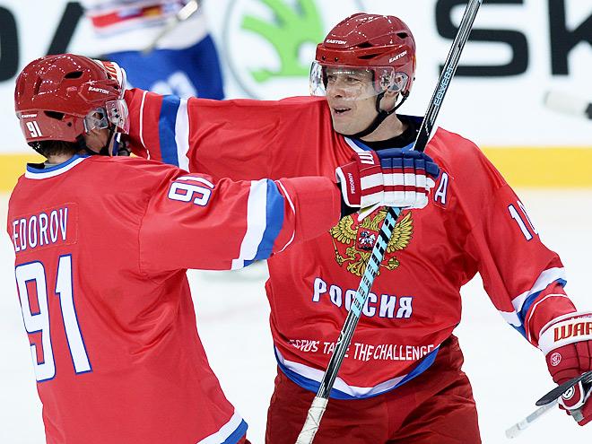Сергей Фёдоров и Павел Буре