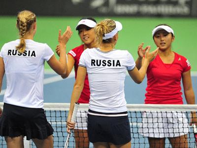 Россия сыграет со Словакией в полуфинале Fed Cup
