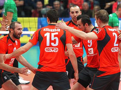 «Белогорье» переиграло «Урал» во 2-м матче финала