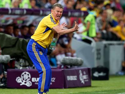 """Бывший тренер """"горняков"""" - о выступлении сборной Украины на Евро"""