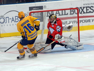 Хоккейный триллер в Донецке