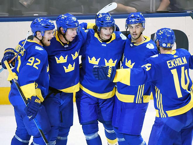 Швеция — Звёзды СА U23