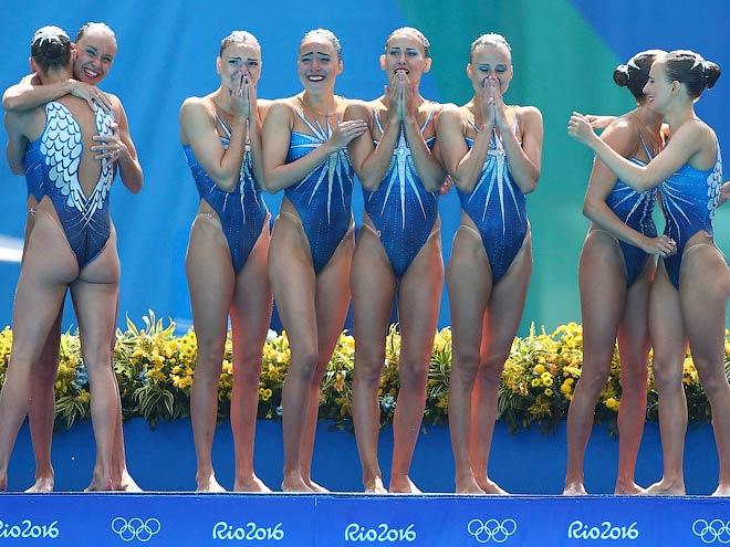 Олимпиада-2016. Российские синхронистки выиграли пятую подряд Олимпиаду