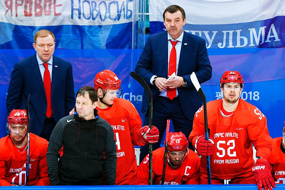 Олег Знарок: «Почему некажусь довольным? Ячто, вфинале играю? Заканчивайте»