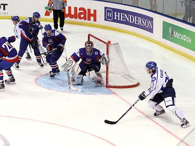 Молодёжная сборная Санкт-Петербурга уступила Швеции