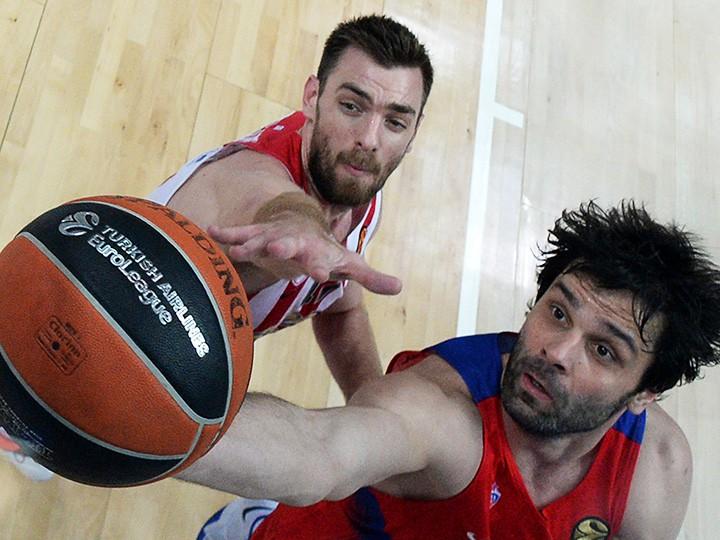 ЦСКА и «Олимпиакос» уже трижды встречались в «Финалах четырёх» Евролиги