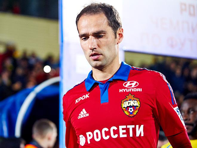 Роман Широков потерял место в основе ЦСКА