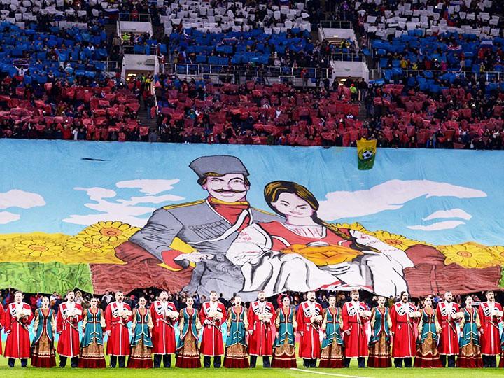 Россия – Бельгия: фото с матча