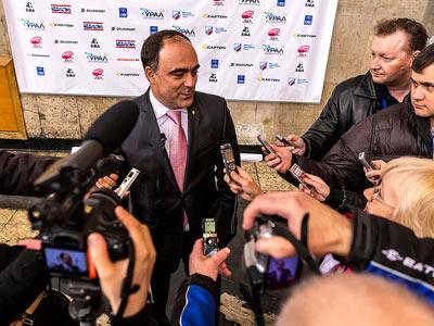 Герман Скоропупов посетил матч «Лада» - «Торос»
