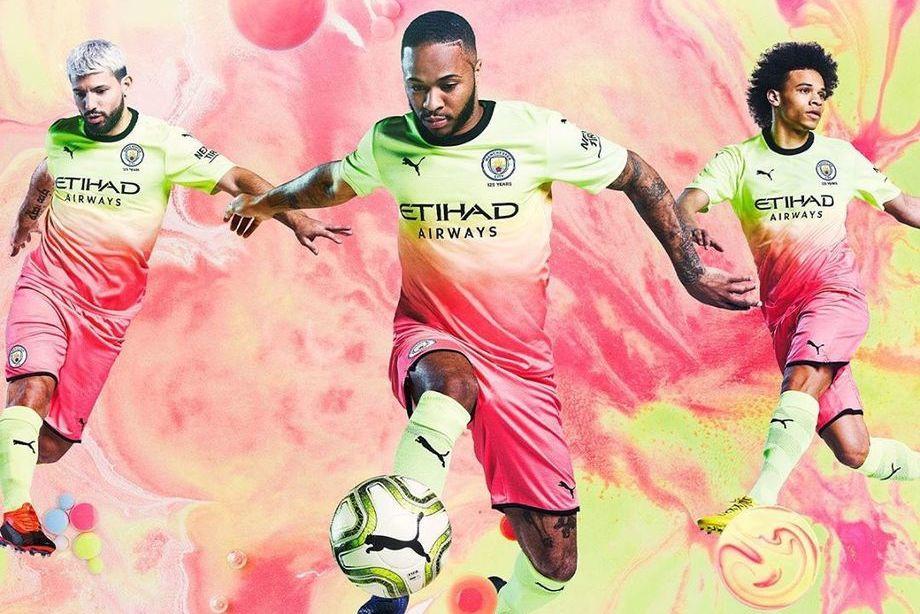 Третья форма Манчестер Сити